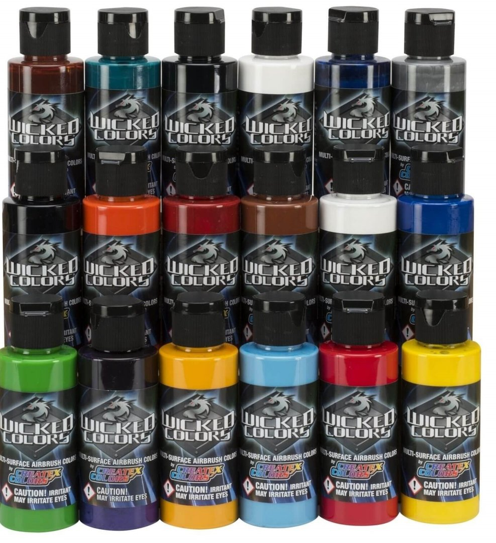 Pinturas Para Maquetas Pintura Wicked Colors