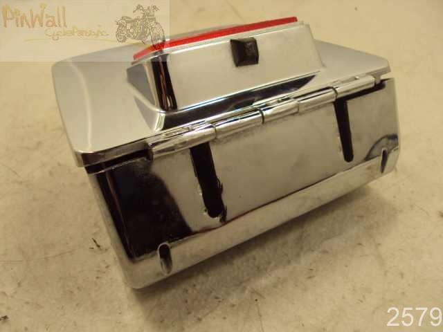 94 Yamaha Virago 750 Xv750 Rear Chrome Storage Tool Box