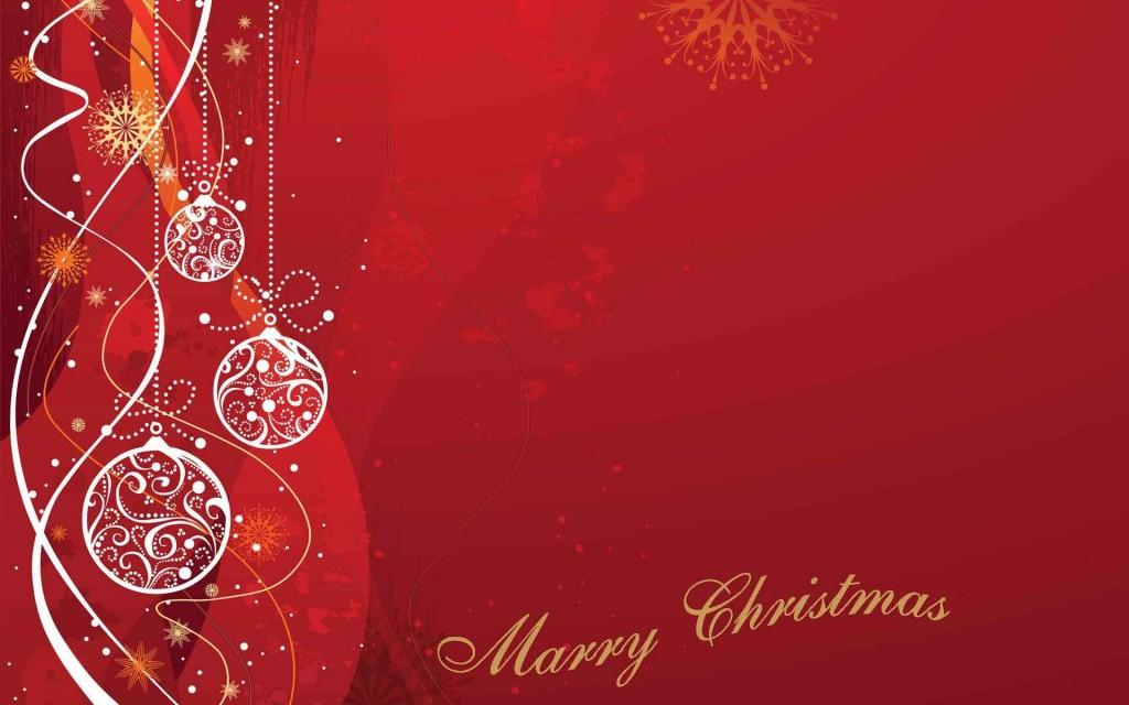 Christmas Balls Greeting Card Pin Xmas
