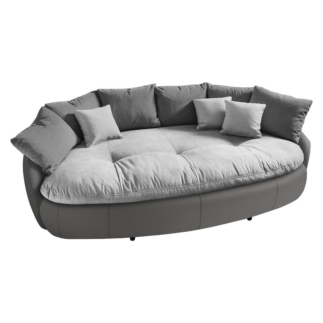 Cailen Big Sofa 238x140x80cm Light Grey Fango Piolo