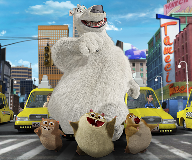 Norm of the North: Urso polar viaja a Nova York em trailers de animação