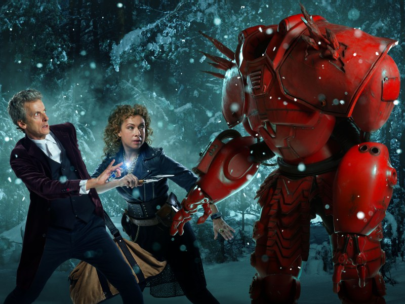 Doctor Who: Trailers e fotos do especial de Natal destacam a volta de River Song