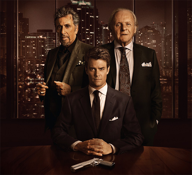 Trailer de suspense junta Josh Duhamel, Anthony Hopkins e Al Pacino