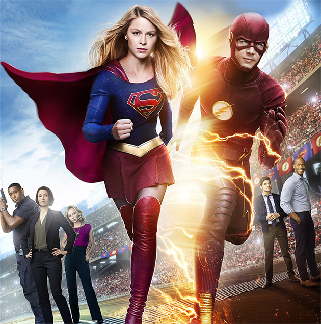 Supergirl encontra Flash em teaser e fotos do crossover televisivo
