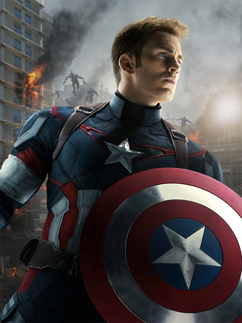 Фигурка Капитан Америка Статуэтка 30см  купить за 3650