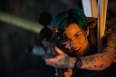 xXx: Ruby Rose rouba as cenas do novo trailer do filme de ação de Vin Diesel