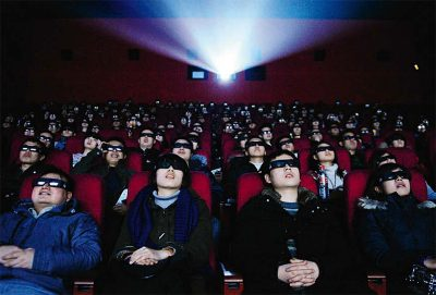 China passa os EUA como o país com mais salas de cinema do mundo