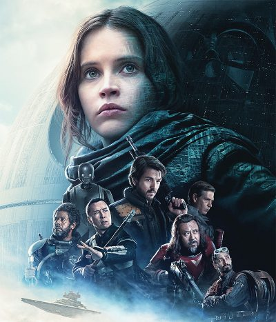 Rogue One, prólogo da saga Star Wars, chega a mais de 1,2 mil cinemas no Brasil