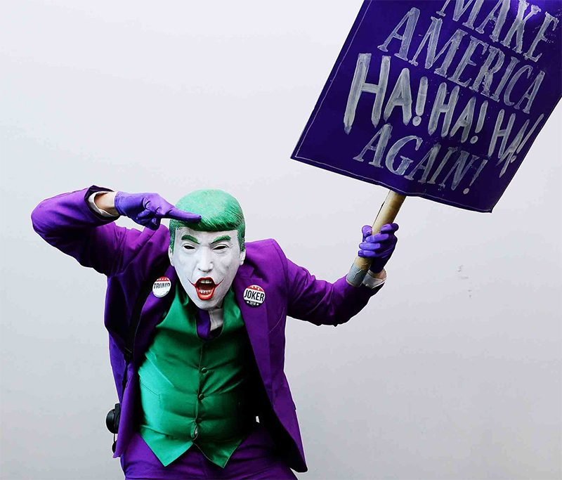 Mark Hamill dubla tuíte de Donald Trump com a voz do Coringa