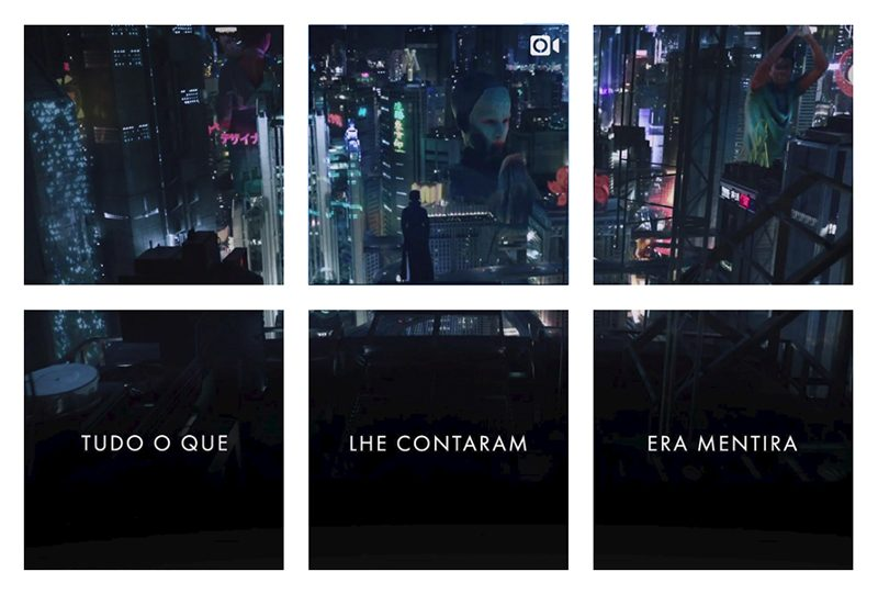 A Vigilante do Amanhã – Ghost in the Shell chega ao Instagram em forma de mosaico