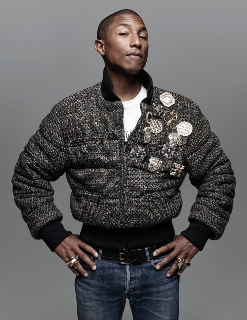 Vida do cantor Pharrell Williams vai virar musical de cinema