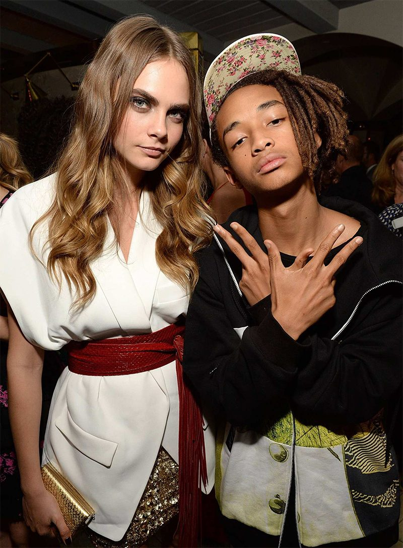 Jaden Smith  e Cara Delevingne vão viver romance no cinema