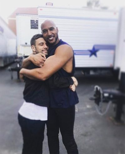 Nick Blood compartilha foto nos bastidores de Agents of SHIELD