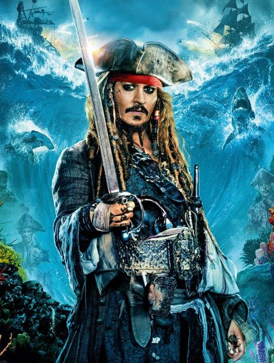 Johnny Depp teria filmado bêbado o novo Piratas do Caribe