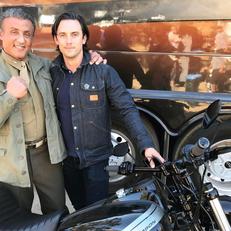 Sylvester Stallone compartilha fotos dos bastidores de This Is Us