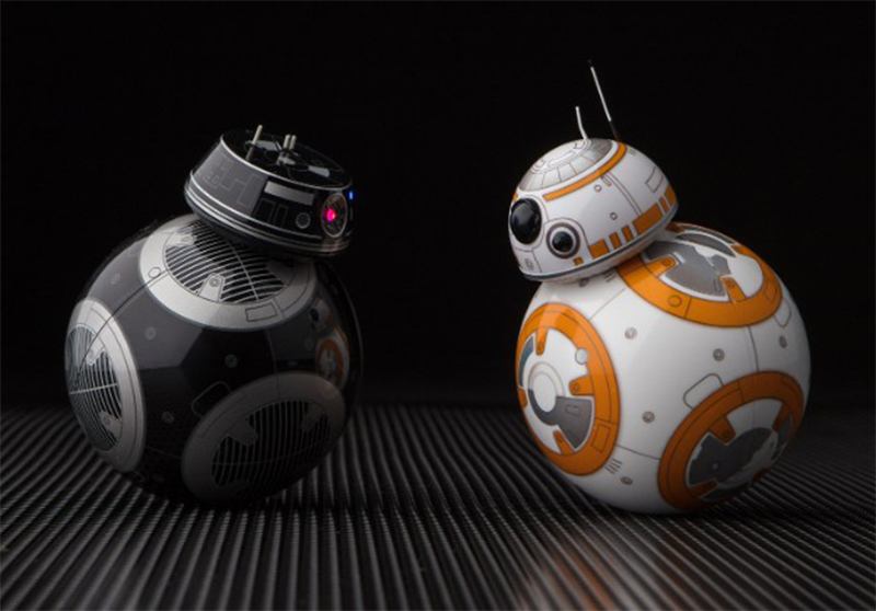 "Disney apresenta ""BB-8 do mal"", novo droide da franquia Star Wars"