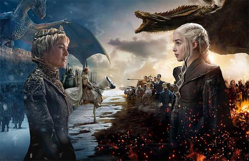 "Final da temporada de  Game of Thrones será como ""um filme"""