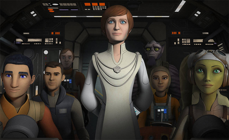 Personagens clássicos se juntam à luta no trailer da 4ª e última temporada de Star Wars: Rebels