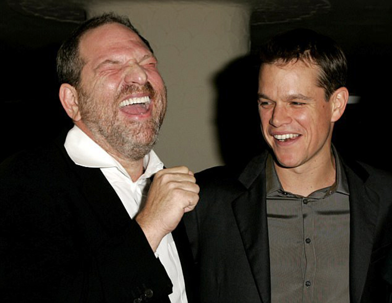 Matt Damon confessa que sabia do assédio de Harvey Weinstein a Gwyneth Paltrow
