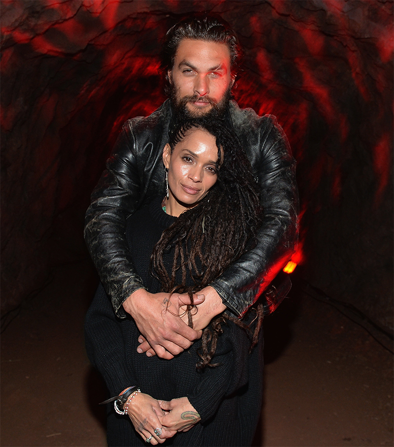Lisa Bonet And Jason Momoa At The Mad Max Premiere: Jason Momoa Está Oficialmente Casado Com Lisa Bonet
