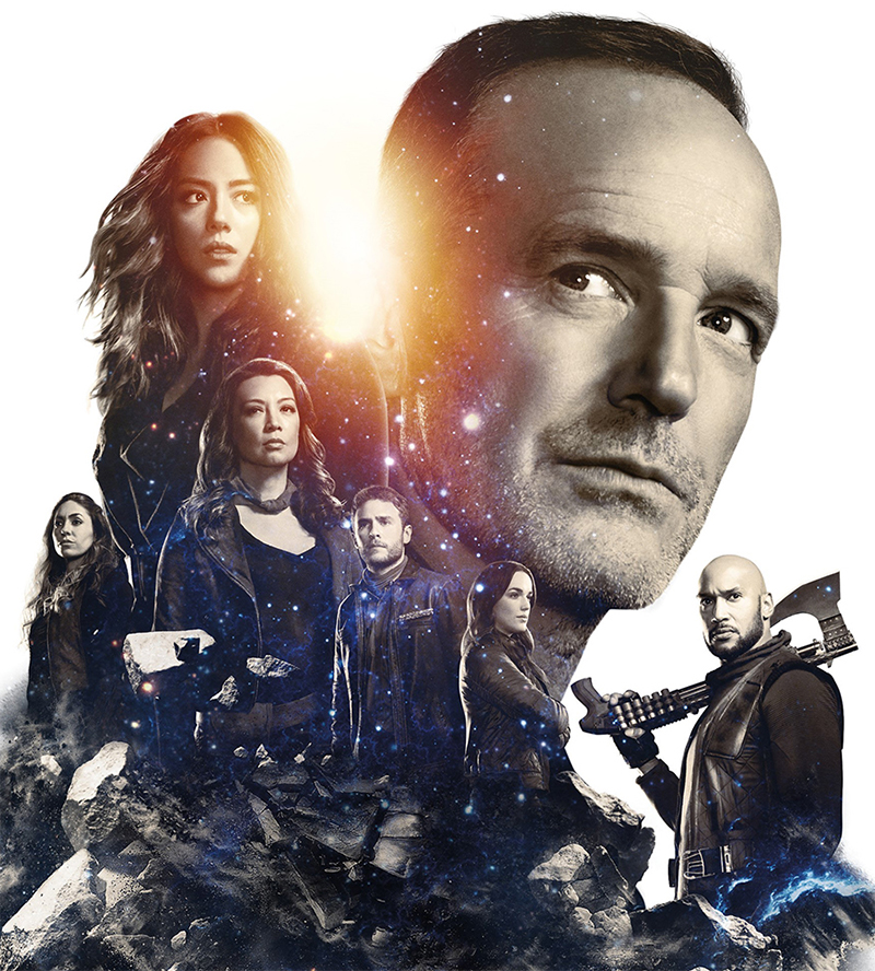Agents of SHIELD revela cena com alienígenas e pôster da  5ª temporada