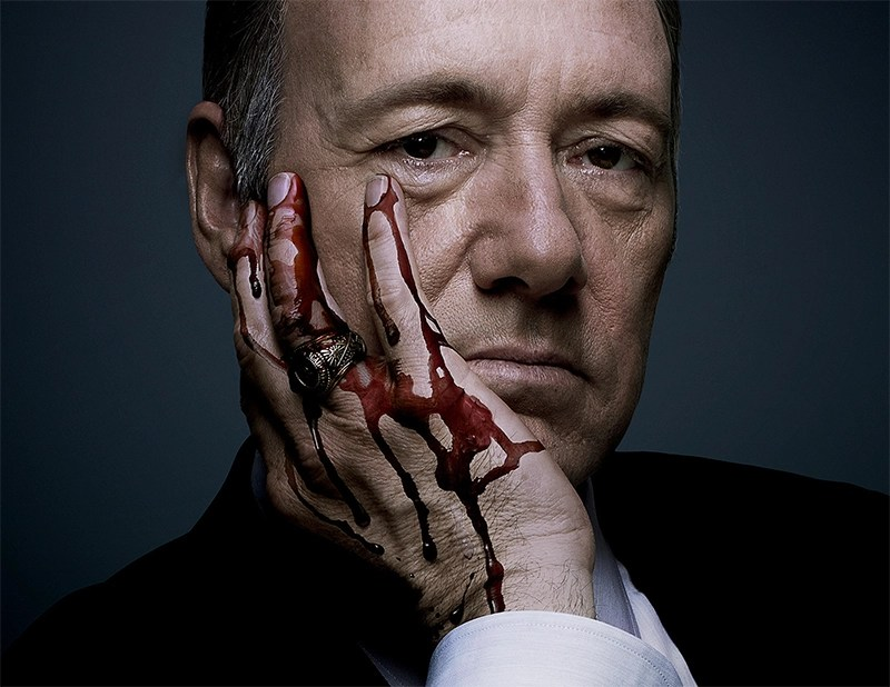 Produtores de House of Cards planejam matar personagem de Kevin Spacey