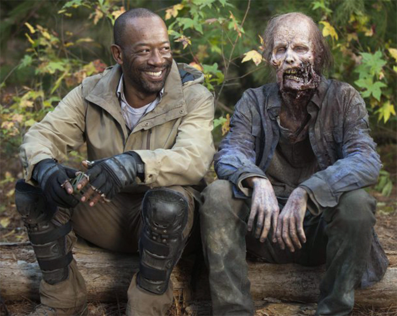 Lennie James divulga vídeo de seu primeiro dia no set de Fear the Walking Dead