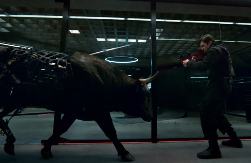 Touros robóticos atacam no trailer da 2ª temporada de Westworld