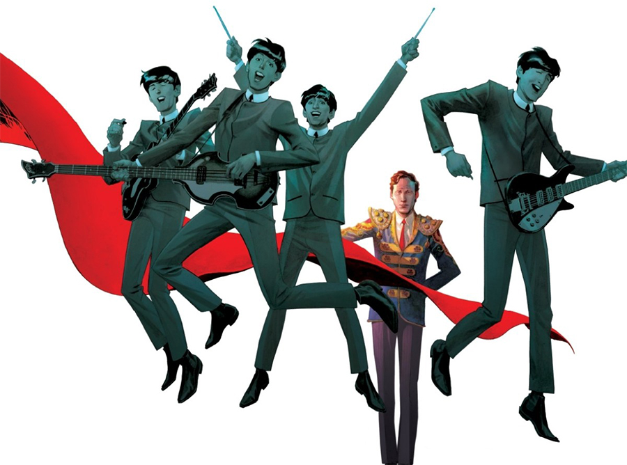 Graphic novel O Quinto Beatle vai virar minissérie com músicas originais dos Beatles