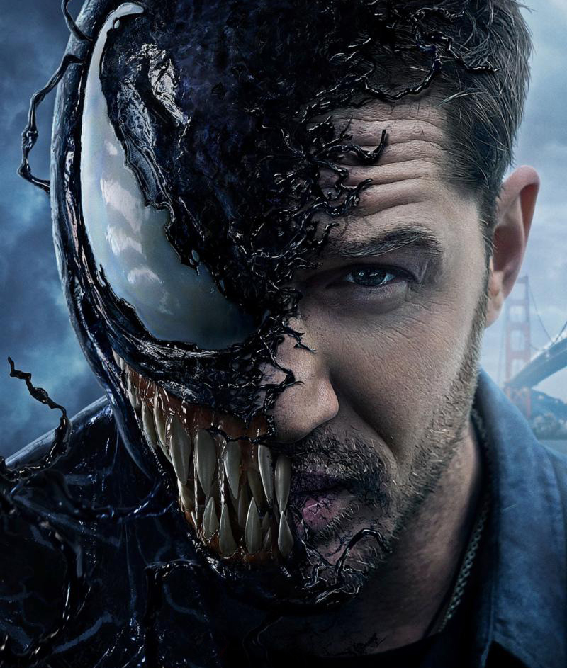 Pôster e trailer legendado de Venom finalmente mostram o personagem do título
