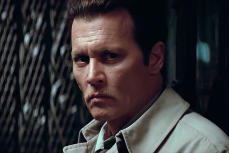 Johnny Depp investiga o assassinato do rapper Notorious B.I.G. em trailer de filme policial