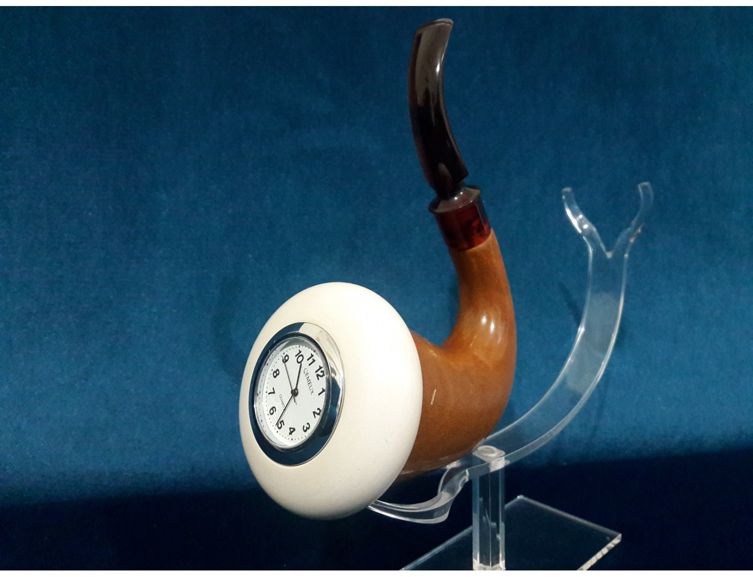 Special Clock Calabash Pipe With Special Clock