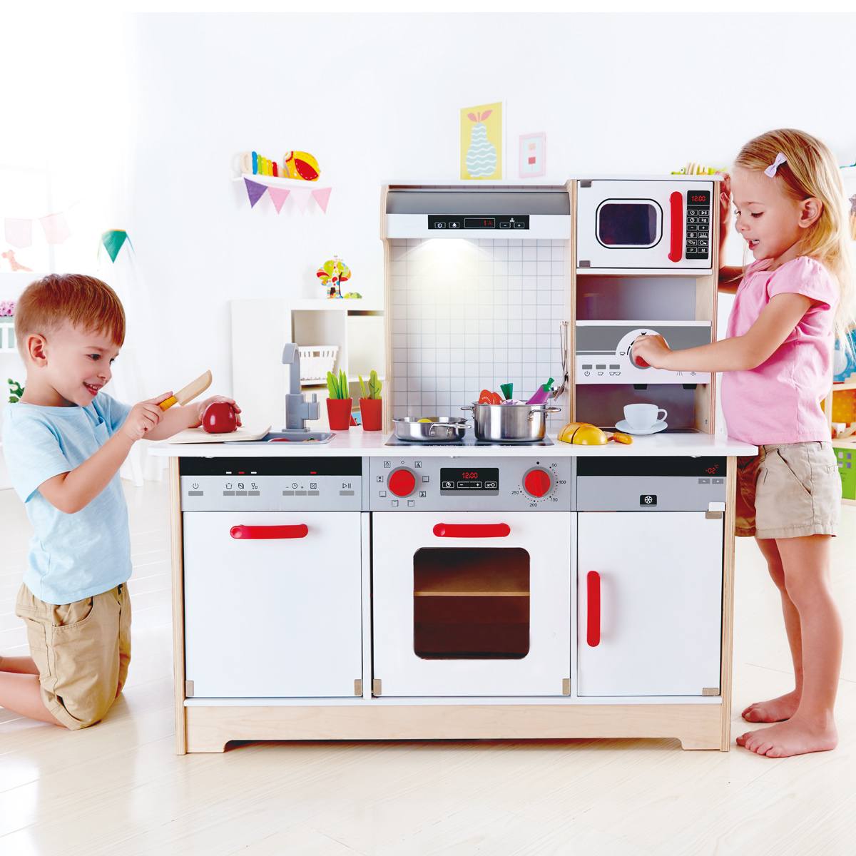 Hape Küche All In One Hape All In 1 Kitchen E3145 Pirum