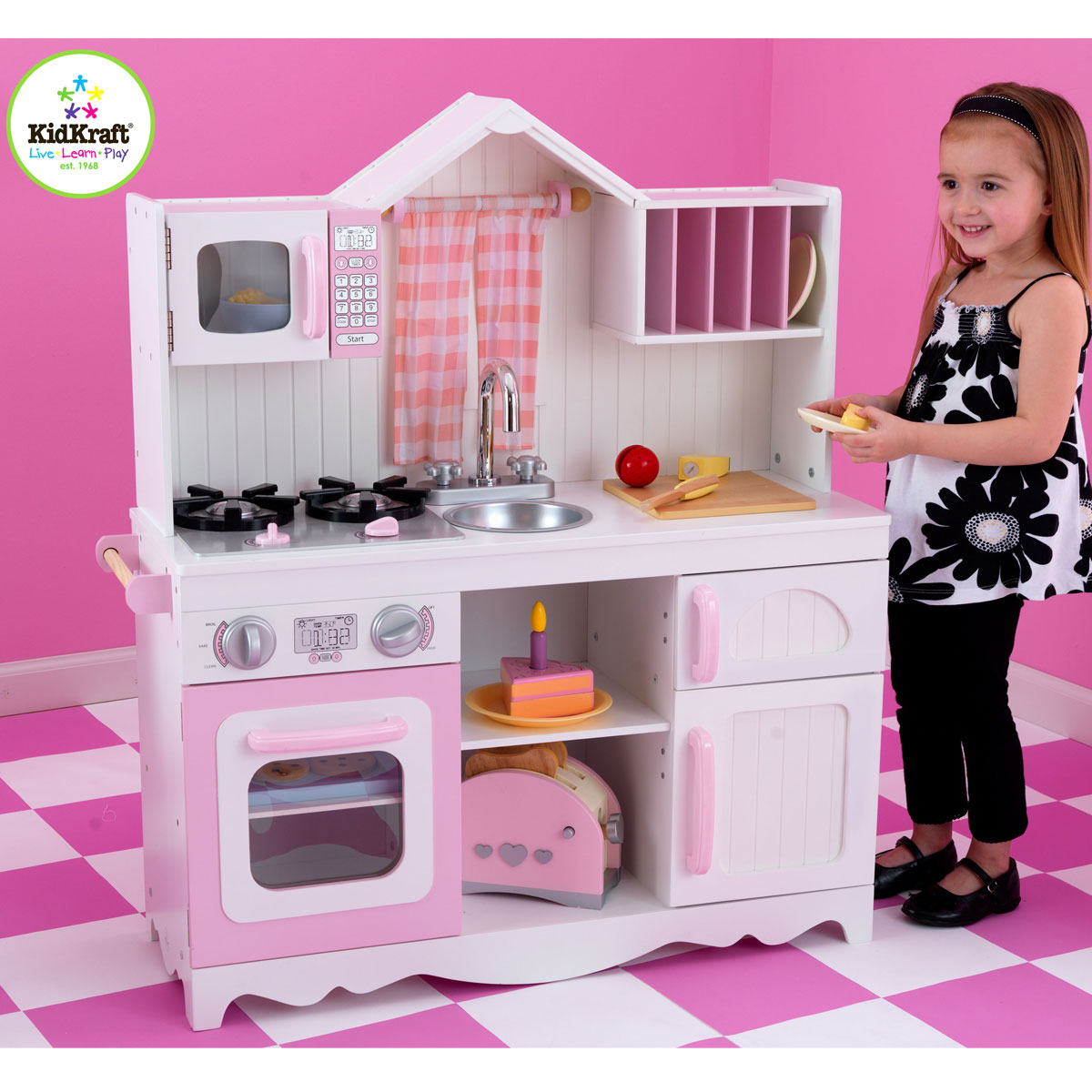 Kidkraft Küche Country Gebraucht Kidkraft Modern Country Kitchen 53222