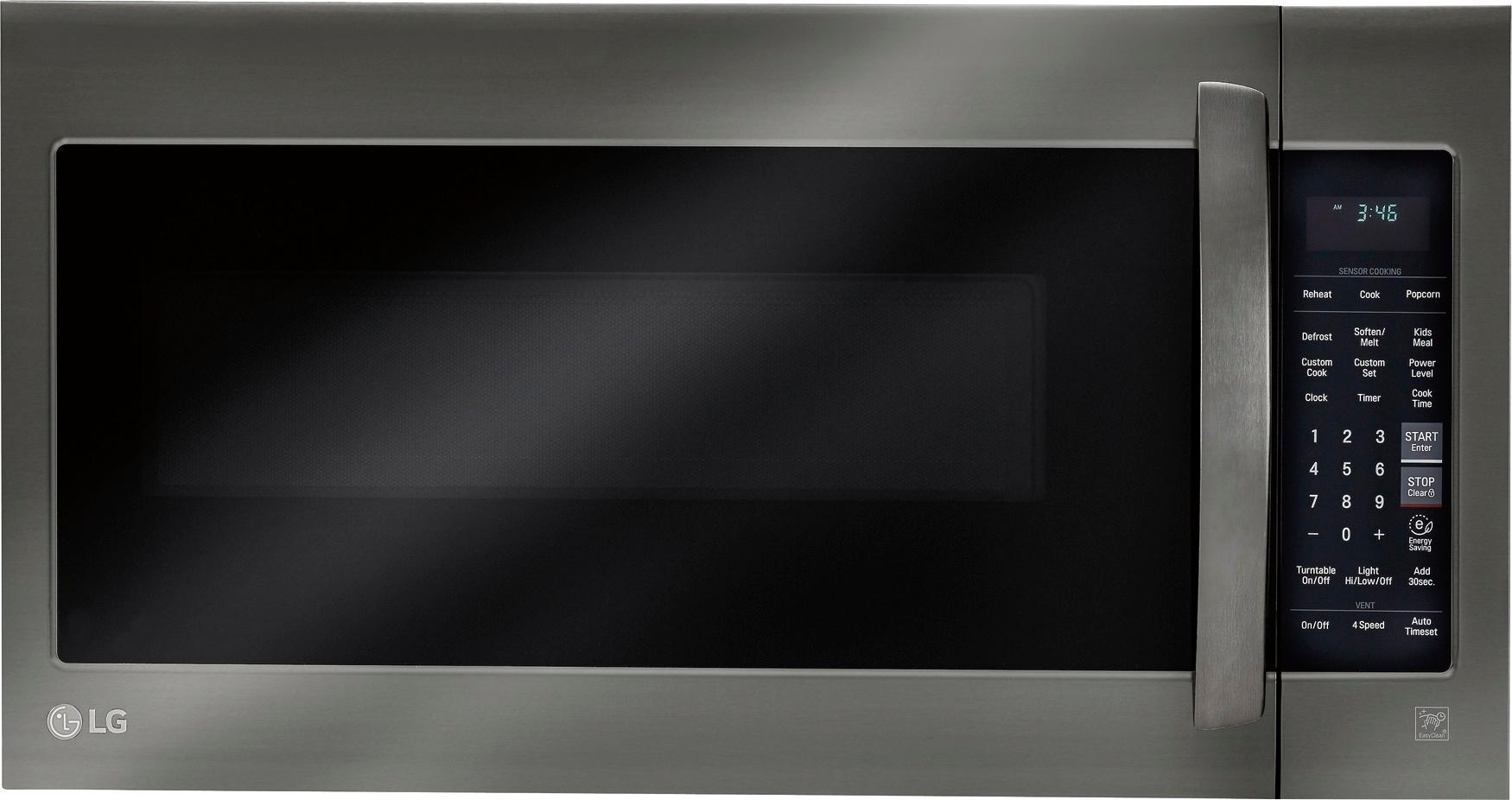 Lg 20 Cu Ft Over The Range Microwave With Sensor