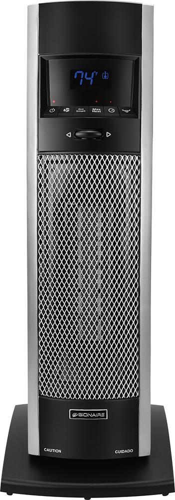 Bionaire Ceramic Mini Tower Heater Black Bch9212r U Best Buy