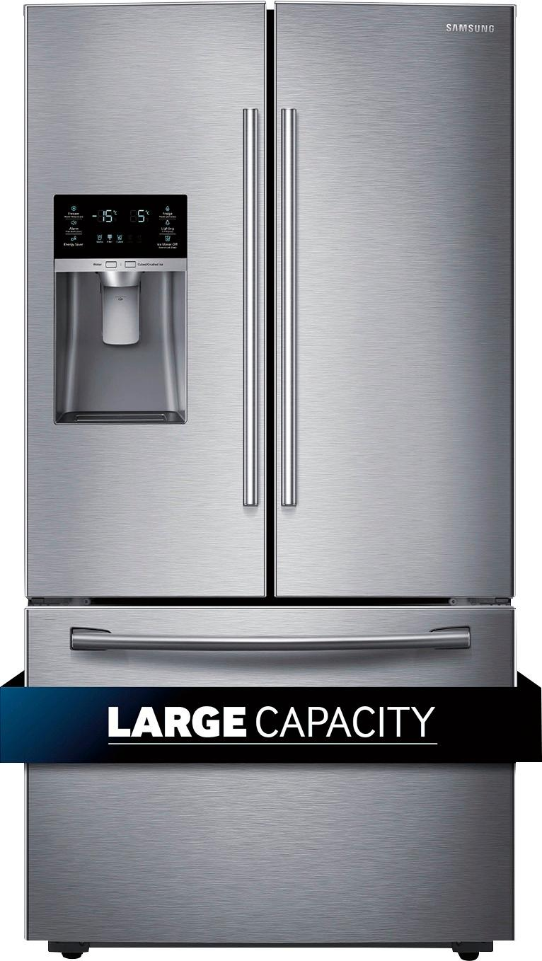 Fridges Canada Samsung 28 1 Cu Ft French Door Refrigerator With Thru The Door Ice And Water Stainless Steel
