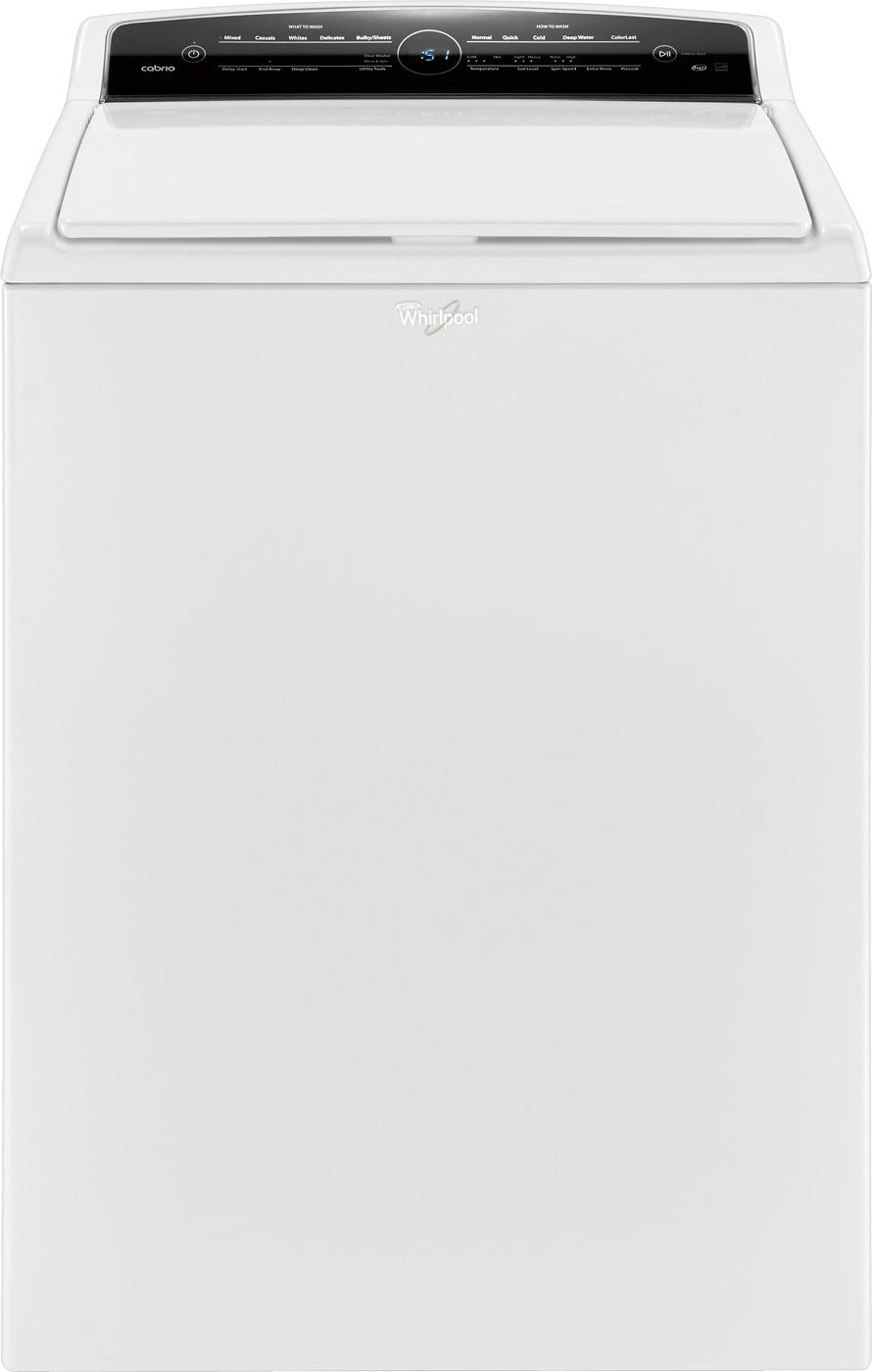 Whirlpool Dishwasher Parts Canada Whirlpool Cabrio 4 8 Cu Ft 26 Cycle High Efficiency Top Loading Washer White