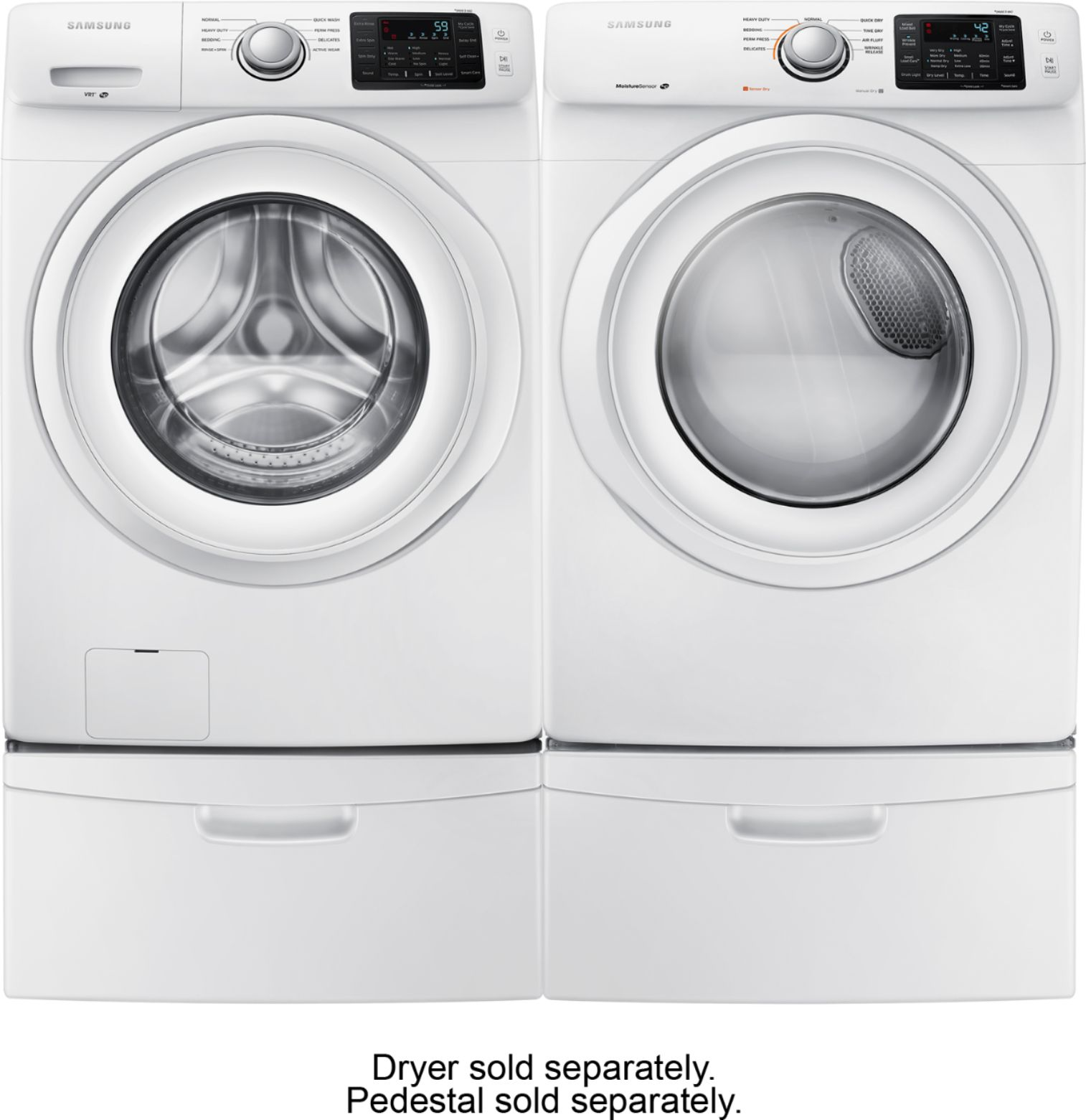 Samsung Front Load Washer Samsung 4 2 Cu Ft 8 Cycle High Efficiency Front Loading Washer White
