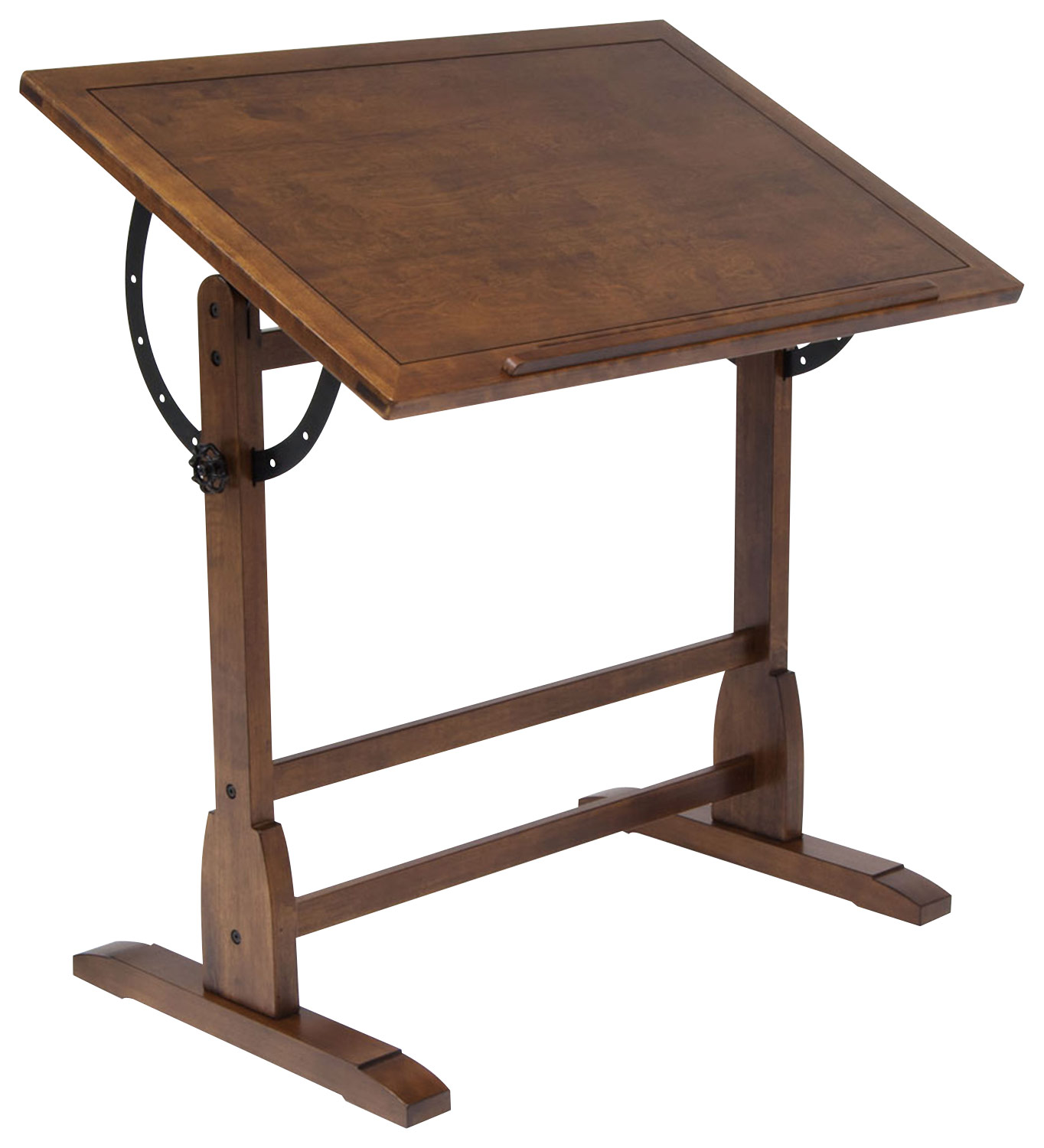 Adjustable Height Drafting Table Studio Designs Vintage Drafting Table Rustic Oak