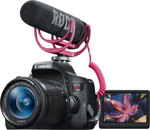Medium Of Canon Rebel T6i Bundle