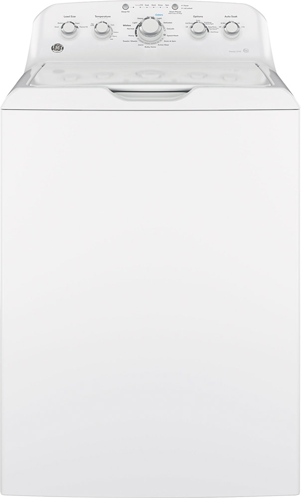 GE 42 Cu Ft 14-Cycle Top-Loading Washer White GTW460ASJWW - Best Buy