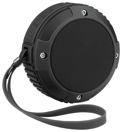 Merkury Explorer Rugged Portable Bluetooth Speaker Black