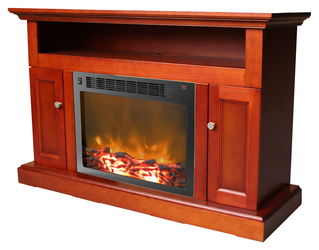Electric Fireplace.com Cambridge Sorrento Electric Fireplace For Most Flat Panel Tvs Up To 50