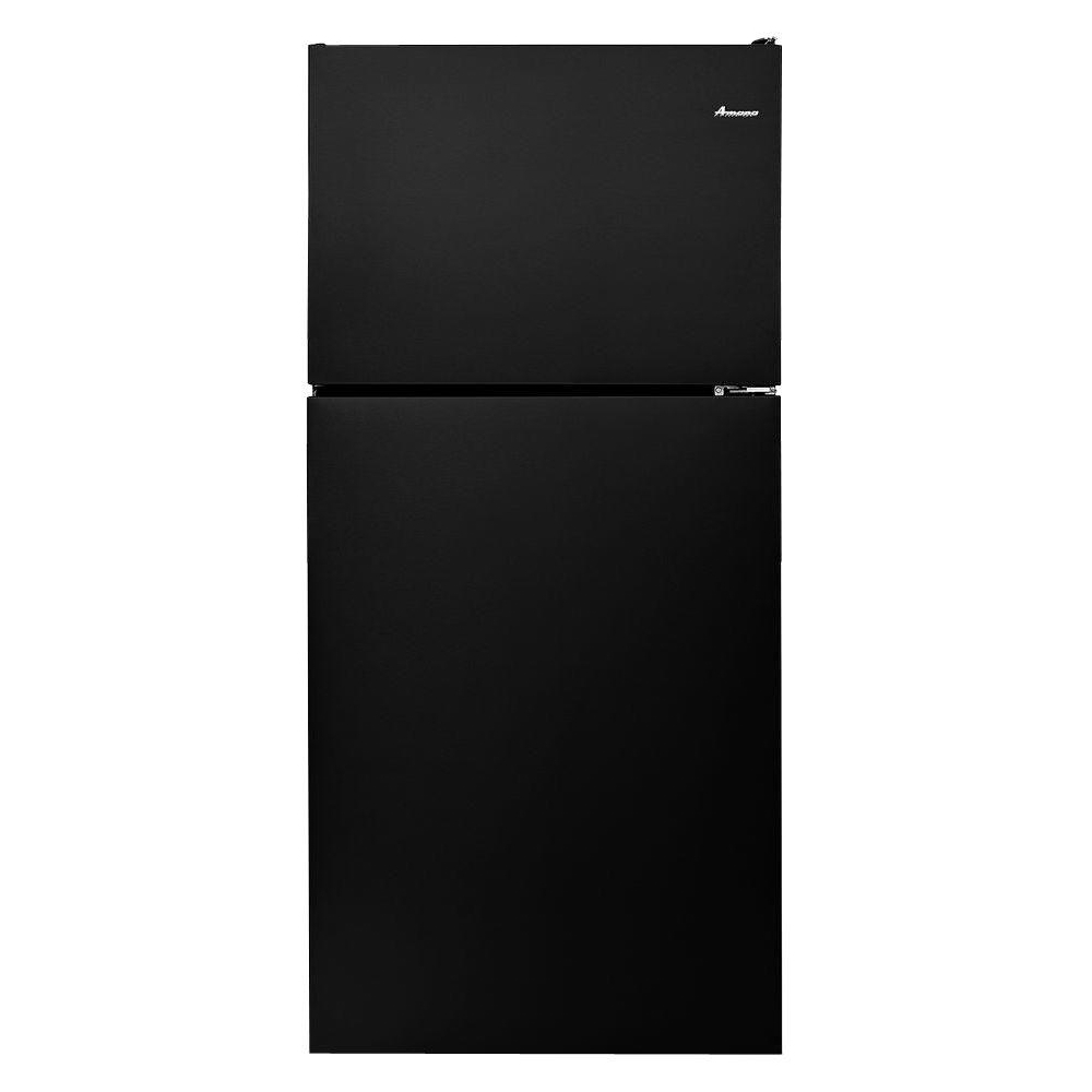 14 Cu Ft Refrigerator Amana 18 2 Cu Ft Top Freezer Refrigerator Black