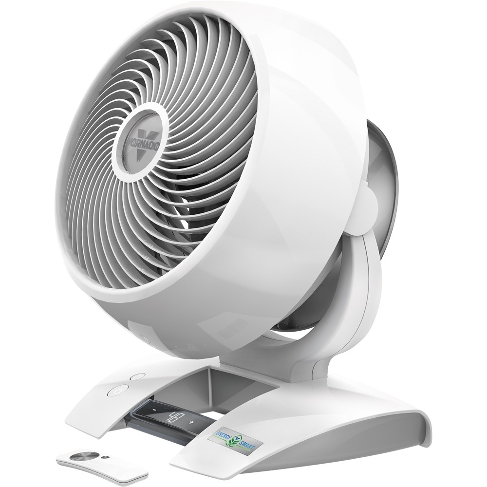 Vornado Fan Vornado 6303dc Energy Smart Circulator Fan Ice White