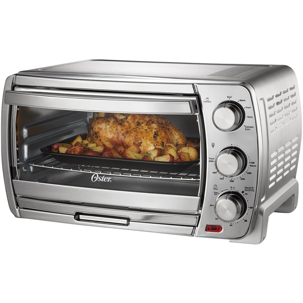 Oster Convection Countertop Oven Reviews Oster Convection Toaster Pizza Oven Brushed Chrome
