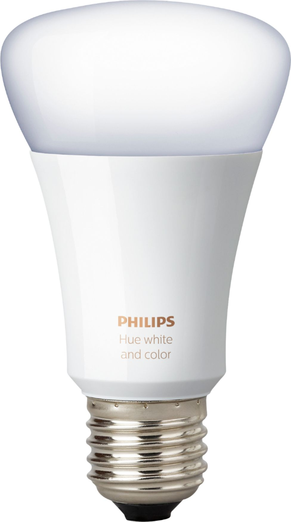 Philips Hub Philips Hue White And Color Ambiance A19 Smart Led Bulb Multicolor