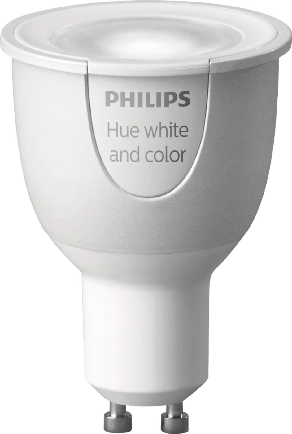 Hue G10 Philips Hue White And Color Ambiance Gu10 Wi Fi Smart Led Floodlight Bulb Multicolor