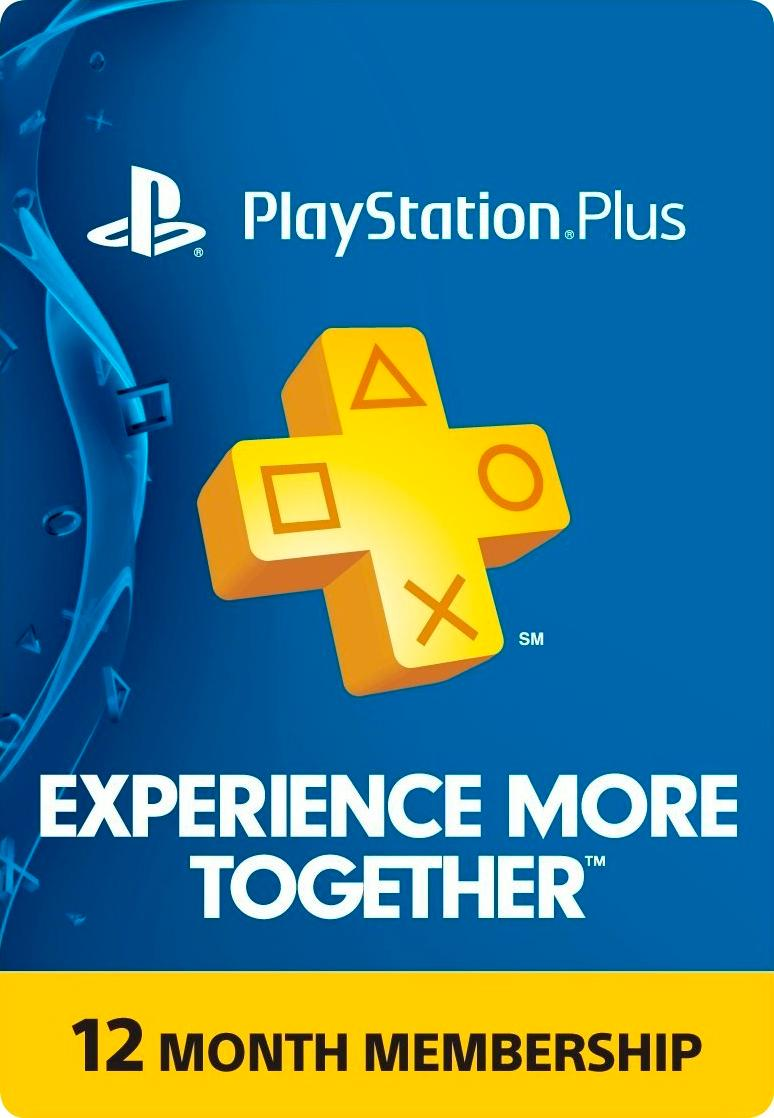 Playstation Plus 12 Meses Sony Playstation Plus 12 Month Membership